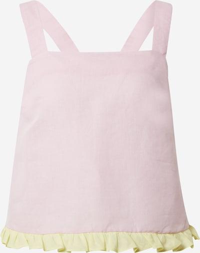 Dora Larsen Camiseta para dormir 'EMELIE' en amarillo / rosa, Vista del producto