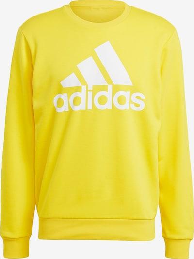 ADIDAS PERFORMANCE Sportsweatshirt in de kleur Geel / Wit, Productweergave