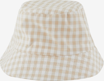 PIECES Kapelusz 'Laya' w kolorze jasny beż / białym, Podgląd produktu