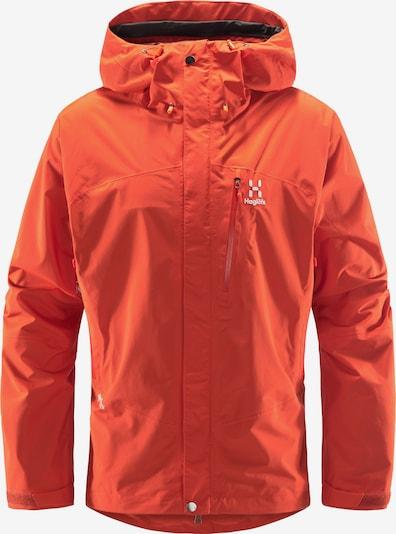 Haglöfs Veste outdoor 'Astral GTX' en orange foncé / blanc, Vue avec produit