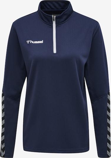 Hummel Sweatshirt in nachtblau / weiß: Frontalansicht