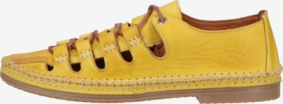COSMOS COMFORT Schnürschuh in gelb, Produktansicht