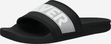 QUIKSILVER Pantolette 'RIVI' i svart