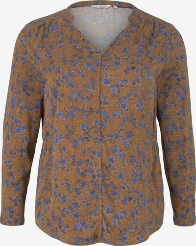 MY TRUE ME Blouse in de kleur Blauw / Bruin, Productweergave