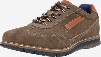 bugatti Sporta apavi ar šņorēm 'Simone', krāsa - konjaka toņa / pelēkbrūns, Preces skats