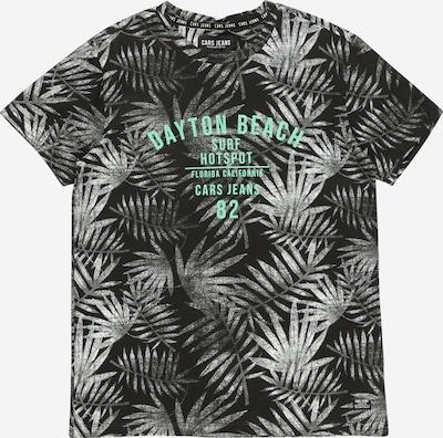 Cars Jeans T-Shirt 'SOREN' in graumeliert / jade / schwarz, Produktansicht