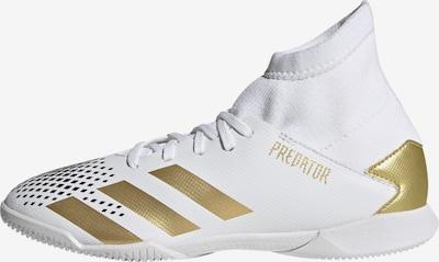 ADIDAS PERFORMANCE Fußballschuh ' Predator Mutator 20.3 IN ' in gold / weiß, Produktansicht