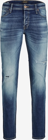 JACK & JONES Jeans 'Glenn' in Blau