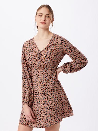 Rochie de vară 'MILDA' VERO MODA pe portocaliu deschis / roz / negru, Vizualizare model