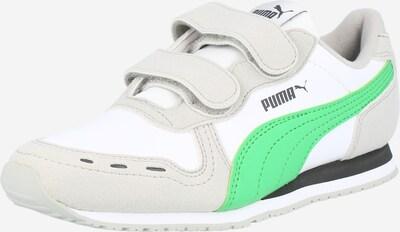 PUMA Сникърси в светлосиво / зелено / бяло, Преглед на продукта