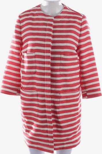 0039 Italy Mantel in M in rot / weiß, Produktansicht