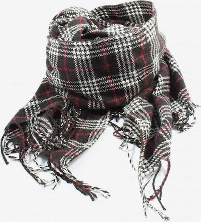 Review Strickschal in One Size in rot / schwarz / weiß, Produktansicht
