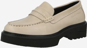Papuci de casă 'Kathy' de la Marc O'Polo pe bej