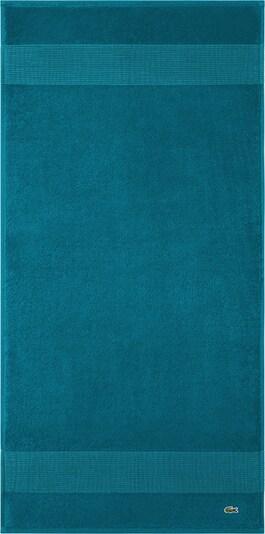 LACOSTE Handtuch-Set 'LE CROCO' in blau / aqua, Produktansicht