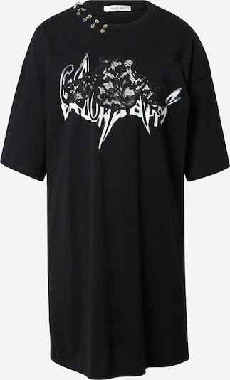 REPLAY Kleid in schwarz / weiß, Produktansicht