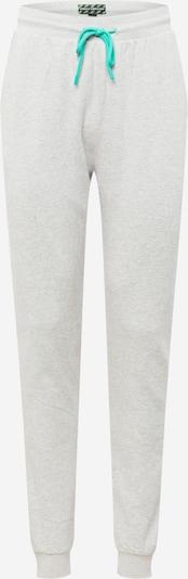 Urban Threads Pantalon en gris clair / jade, Vue avec produit