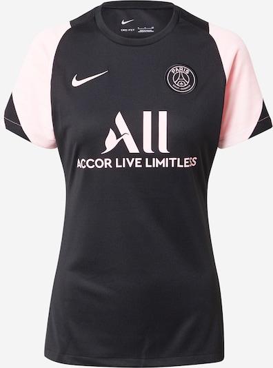 NIKE T-shirt fonctionnel 'Paris Saint-Germain Strike Away' en rose clair / noir, Vue avec produit