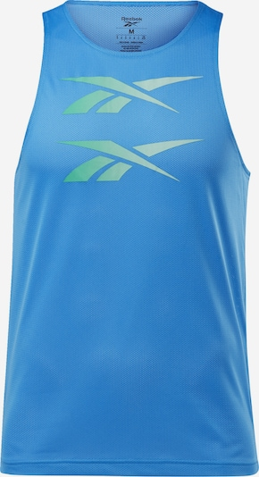REEBOK Top in hellblau / mint, Produktansicht