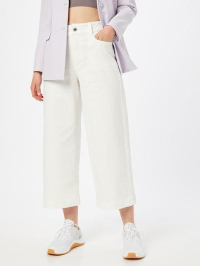 Q/S designed by Pantalon en blanc naturel, Vue avec modèle