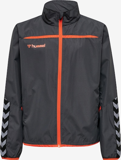 Hummel Functionele jas in de kleur Antraciet / Sinaasappel, Productweergave