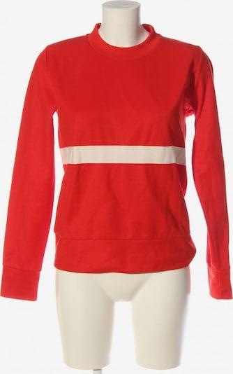 WOOD WOOD Sweatshirt in S in rot / wollweiß, Produktansicht