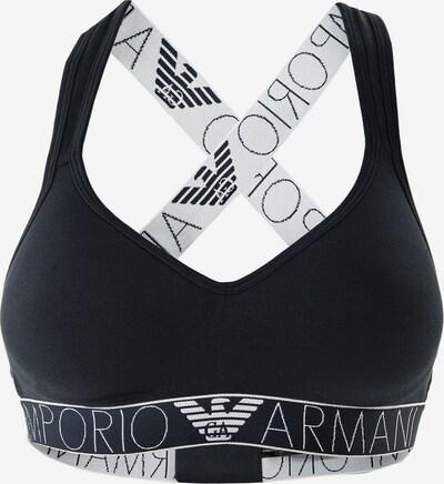 Emporio Armani BH in dunkelblau / weiß, Produktansicht