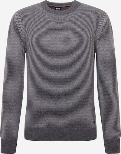 Pullover BOSS Casual di colore grigio / grigio scuro, Visualizzazione prodotti
