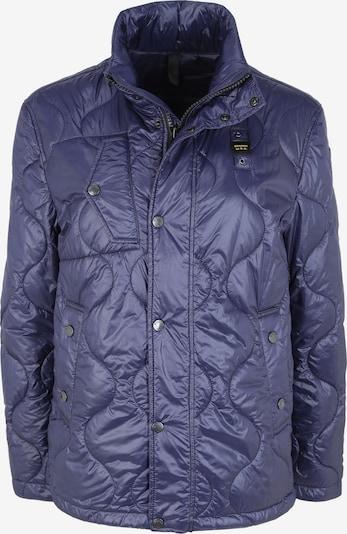 Blauer.USA Jacke mit verstaubarer Kapuze in blau, Produktansicht