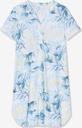 SCHIESSER Nachthemd in blau / weiß, Produktansicht