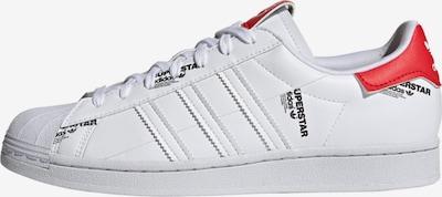 ADIDAS ORIGINALS Niske tenisice 'Superstar' u crvena / bijela, Pregled proizvoda