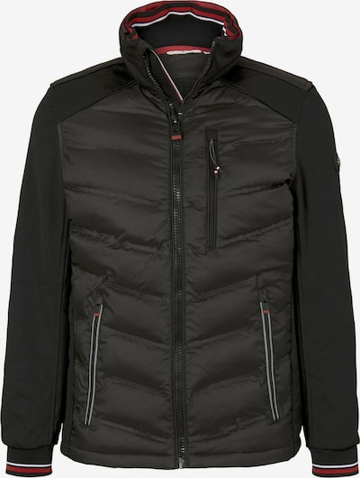 TOM TAILOR Jacke in rot / schwarz / weiß, Produktansicht