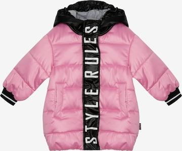 Gulliver Coat in Pink