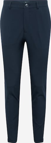Matinique Trousers with creases 'Liam' in Blue