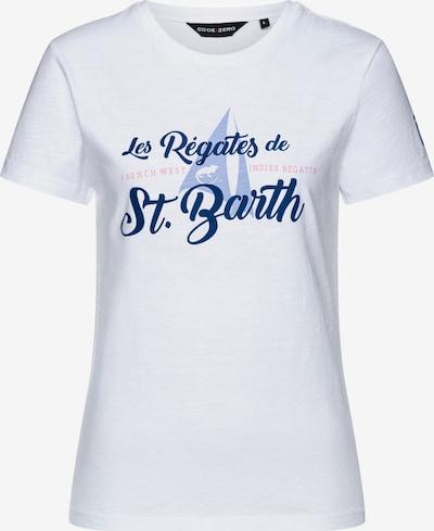 CODE-ZERO T-Shirt 'Gouverneur' Damen in weiß, Produktansicht