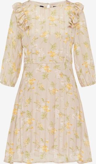 DreiMaster Vintage Letnia sukienka w kolorze beżowy / żółty / zielonym, Podgląd produktu