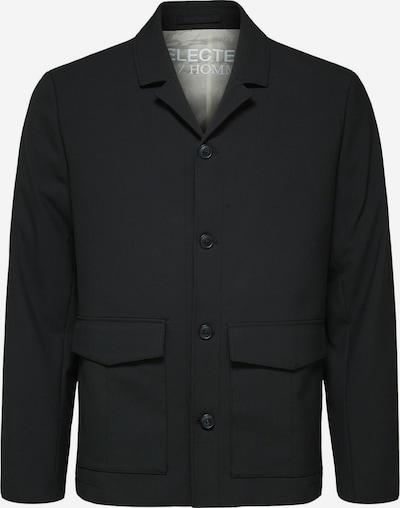 SELECTED HOMME Klederdrachtjas in de kleur Zwart, Productweergave