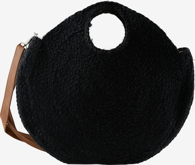 PIECES Shoppingväska 'Lona' i svart, Produktvy