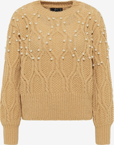 faina Oversized Sweater in Light brown, Item view