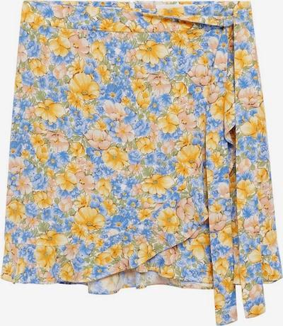 Fustă MANGO pe albastru / galben / verde / roz, Vizualizare produs