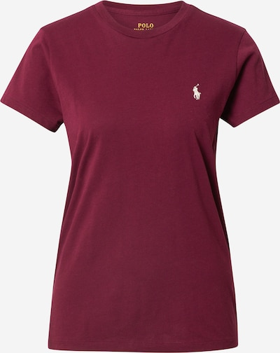 Polo Ralph Lauren T-shirt i vinröd, Produktvy