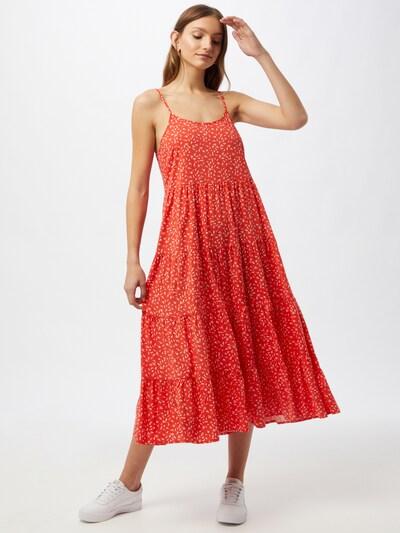 Soft Rebels Kleid 'SRJolene' in rot / weiß, Modelansicht