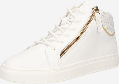 SikSilk High-Top Sneakers in Gold / White, Item view