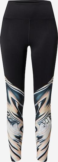 ADIDAS PERFORMANCE Pantalon de sport 'UFORU' en mélange de couleurs / noir, Vue avec produit