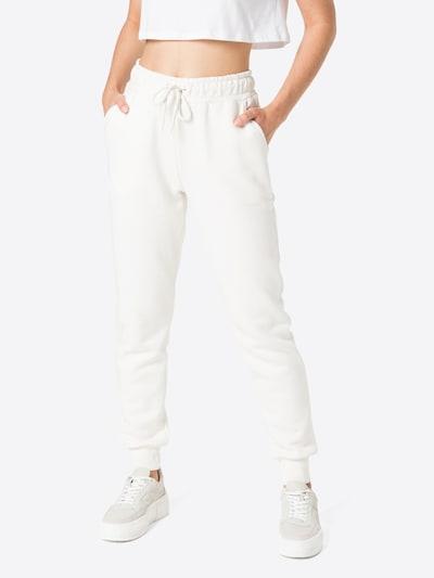 NA-KD Hose in creme, Modelansicht