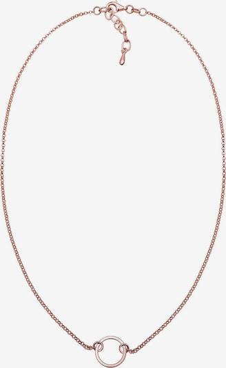 ELLI Choker 'Kreis' in rosegold, Produktansicht