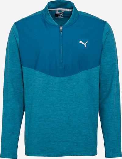 PUMA Sportsweatshirt in blau / weiß, Produktansicht