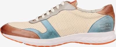 MELVIN & HAMILTON Sneaker in beige / ecru / hellblau / hellbraun, Produktansicht