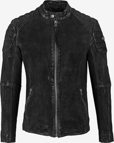 tigha Lederjacke  ' Velie ' in schwarz, Produktansicht