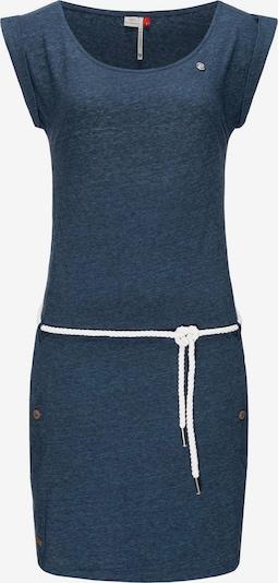 Ragwear Kleid 'Tag' in navy / weiß, Produktansicht