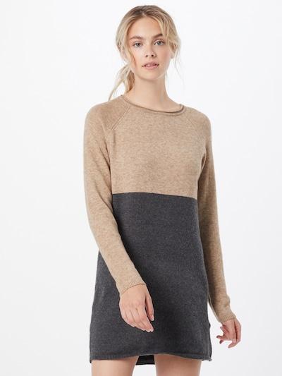 ONLY Kleid in sand / anthrazit, Modelansicht
